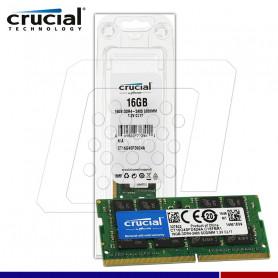 MEM. RAM SODIMM CRUCIAL 16GB DDR4 2400 MHZ