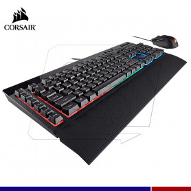 KIT TECLADO Y MOUSE CORSAIR K55 + HARPOON RGB
