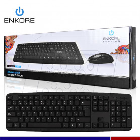 KIT TECLADO MOUSE ENKORE FUSSION ENT502 USB
