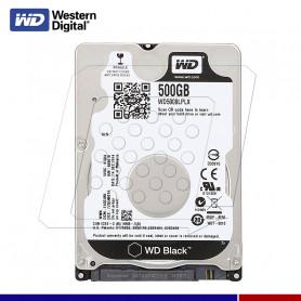 WESTER DIGITAL BLACK 500GB NOTEBOOK