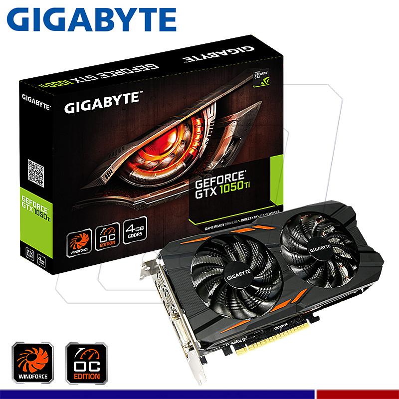 VGA GIGABYTE NVIDIA GTX 1050 TI WINDFORCE 4GB