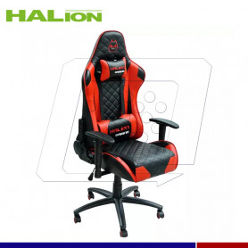 SILLA GAMER HALION HA-S41 N/ROJO