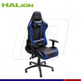 SILLA GAMER HALION HA-S41 N/CELESTE