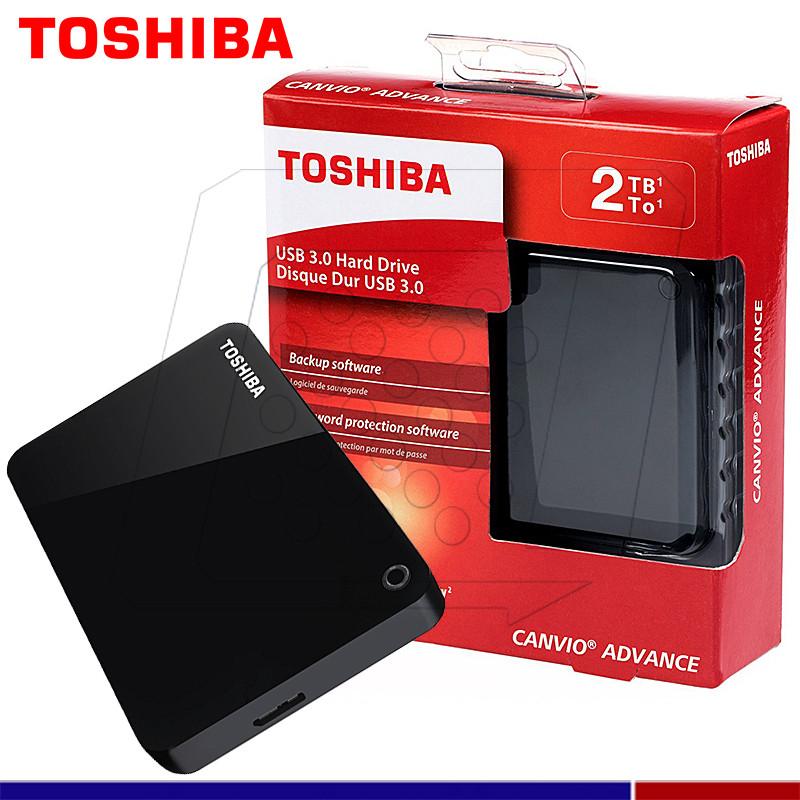2477464878559 EXTERNO TOSHIBA CANVIO ADVANCE 2TB NEGRO - SERCOPLUS