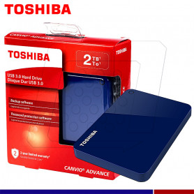EXTERNO TOSHIBA CANVIO ADVANCE 2TB BLUE