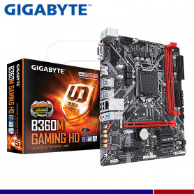 MAINBOARD GIGABYTE B360 GAMING HD