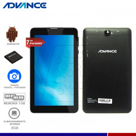 "TABLET ADVANCE PRIME PR7545 7"" 4G DUAL SIM"