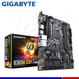 MAINBOARD GIGABYTE B360M-D3H S/V/L DDR4