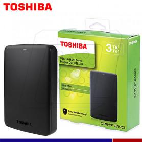DISCO EXTERNO TOSHIBA CANVIO BASIC 3TB