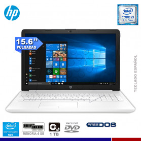 NOTEBOOK HP 15-DA0008LA CORE I3-7020U