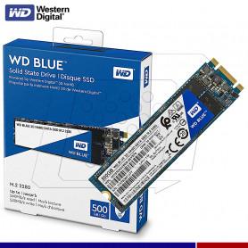 SSD WESTER DIGITAL BLUE 500GB M.2