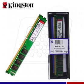 MEMORIA RAM 8GB DDR3 1600 VALUE KINGSTON