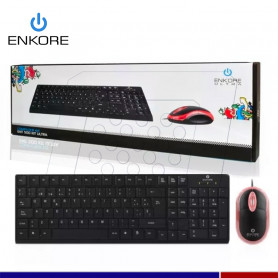KIT TECLADO Y MOUSE ENKORE ENT500 ULTRA