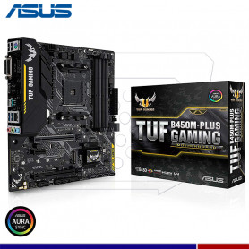MAINBOARD ASUS TUF B450M-PLUS GAMING AMD AM4