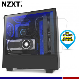 CASE NZXT H500i BLUE USB 3.1