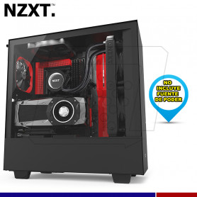CASE NZXT H500i RED USB 3.1
