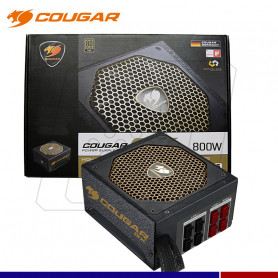 FUENTE COUGAR CX800 80 PLUS GOLD MODULAR 800W