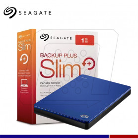 DISCO EXTERNO SEAGATE BACKUP PLUS SLIM AZUL 1TB