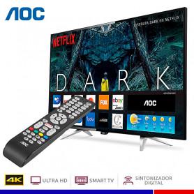 "TELEVISOR AOC LED ULTRA HD 4K SMART 50"""