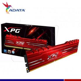 MEMORIA A-DATA 8GB DDR4 3000 XPG GAMIX ROJA