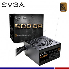 FUENTE DE PODER EVGA 500W 80+ BRONZE