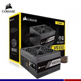 FUENTE DE PODER CORSAIR 550W 80 PLUS WHI