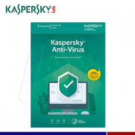 SOFTWARE ANTIVIRUS KASPERSKY 1PC DESCARGA