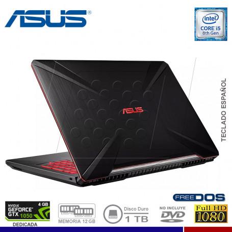 "NOTEBOOK GAMING ASUS TUF FX504GD-DM328 INTEL CORE I5 8300HQ 1TB 12G 1TB VIDEO 4GB 15.6"""