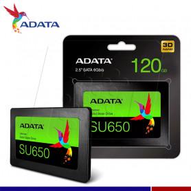 SSD ADATA ULTIMATE SU650 120GB SATA