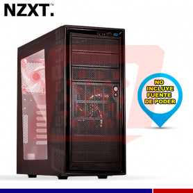 CASE NZXT SOURCE 220 MID TOWER RED
