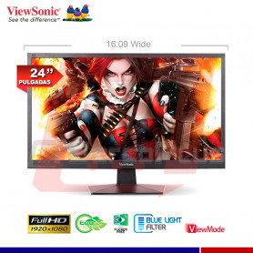 MONITOR VIEW SONIC VA2407H 24""