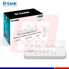 5-PORT FAST ETHERNET SWITCH