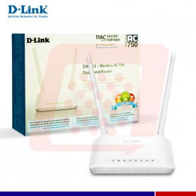 DLINK W-LESS AC750 DUAL ROUTER