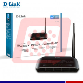 ROUTER ADSL2+ WIRELESS N-150 DSL-2730E