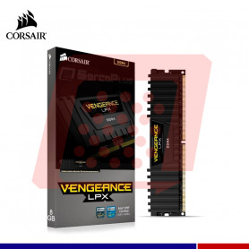 MEMORIA 8GB DDR4 2400 VENGEANCE LPX CORSAIR BLACK