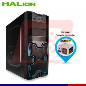 CASE GAMER HALION X-MEN 3313BB AZUL 350W