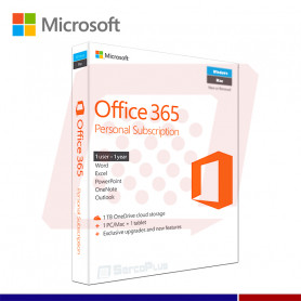 OFFICE 365 PERSONAL 32/64 SPA 1 USUARIO
