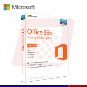 OFFICE 365 HOME PREM 32/64 5 USUARIOS