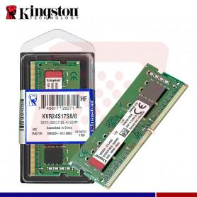MEMORIA RAM 8GB DDR4 2400 SODIMM KINGSTO