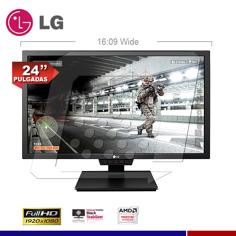 MONITOR LG LED GAMING 24GM79G