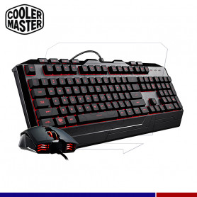 KIT GAMING COOLER MASTER DEVASTADOR III RGB