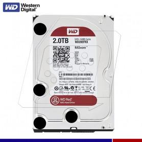DISCO DURO WESTERN DIGITAL 2TB RED