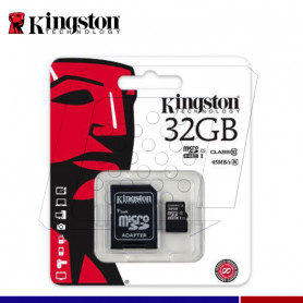 MICRO SD KINGSTON 32GB CL10 G2