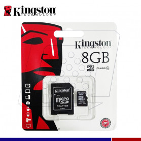 MEMORIA MICRO SD 8GB KINGSTON