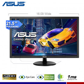 "MONITOR ASUS GAMING VP228H 21.5"" 1MS"