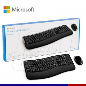 KIT MICROSOFT INALAMBRICO DESKTOP 5050