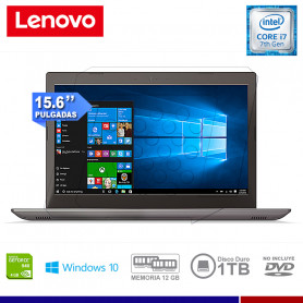 NOTEBOOK LENOVO IP 520 I7-7500U 12GB RAM